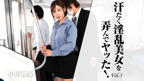小川桃果 【おがわももか】 汗だく淫乱美女を弄んでヤッた!Vol.3